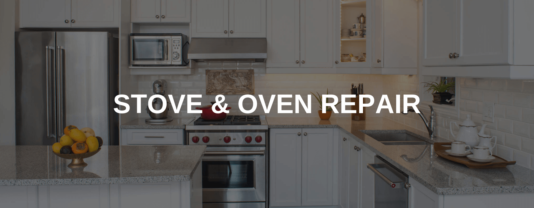 stove repair roseville